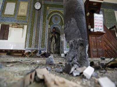 داعش نے یمن مسجد میں خود کش حملے کی ذمہ داری قبول کرلی