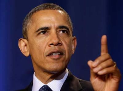 امریکہ ایران اور روس کے ساتھ ملکرشام کا مسئلہ حل کرنے کے لیے تیار ہے :بارک اوبامہ