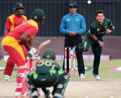 پاکستان اور زمبابوے کے درمیان دوسرا ون ڈے آج کھیلا جائےگا