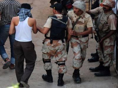 ایم کیو ایم کے ایم پی اے رضاحیدر اور ساجد قریشی کے قتل میں ملوث 2ٹارگٹ کلرز90 روزہ ریمانڈپر رینجرز کے حوالے