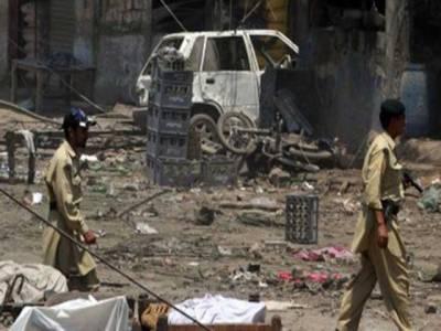 بارودی سرنگ کے دھماکے میں ایک سیکیورٹی اہلکار شہید، 2 زخمی،گاڑی تباہ