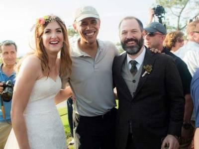 اوباما بن بلائے شادی کی تقریب میں پہنچ گئے، سب دیکھ کر حیران