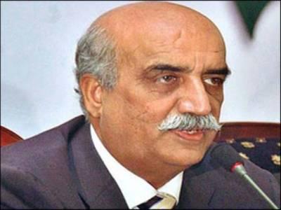 آصف زرداری بیمار، کچھ عرصہ پاکستان نہیں آسکیں گے: خورشید شاہ