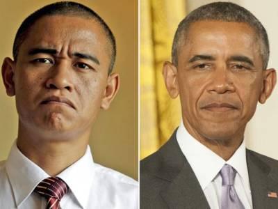 """غریب """"باراک اوباما """"کے دن پھر گئے،10منٹ تک لوگوں کو ہنسانے کے 15سو ڈالر وصول کرنے لگے"""