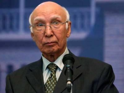 پاکستان میں بھارتی کارروائیوں کے ثبوت امریکہ کے حوالے ،سرتاج عزیز نے تین دستاویزات امریکہ کو دیں