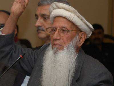 قائد بابا حیدر زمان نے کالا باغ ڈیم کی حمایت کر دی