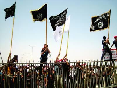 یمن میں سرکاری عمارتوں پر القاعدہ کے پرچم لہرادیئے گئے
