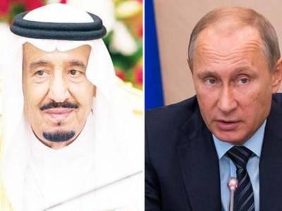 بشار الاسد کے دورہ ماسکو کے بعد روسی صدر پوٹن کاخادم الحرمین شریفین شاہ سلمان کو فون،ملاقات کے نتائج سے آگاہ کیا