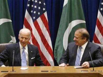 نواز شریف اور امریکی نائب صدرکے درمیان ملاقات،دو طرفہ تعلقات پر تبادلہ خیال