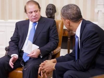 وزیر اعظم نواز شریف اور امریکی صدر باراک اوباما کے درمیا ن ملاقات شروع