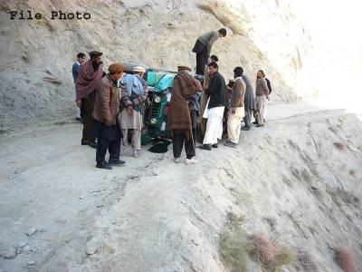 مانسہرہ،جیپ کھائی میں گرنے سے دو افراد جاں بحق ،11زخمی