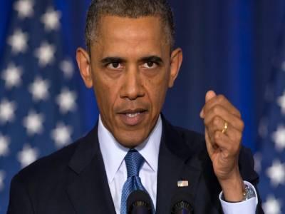 مسلمان دہشتگرد نہیں، داعش کو تباہ کرنا حقیقی مقصد ،روس کو شام میں ترجیحات طے کرنے کی ضرورت ہے: امریکی صدر