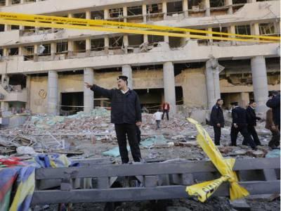 مصر ،بم دھماکے اور فائرنگ سے 3افراد ہلاک، جوابی کارروائی میں 4حملہ آور مار ے گئے
