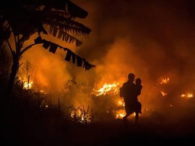 الجزائر میں افریقی مہاجرین کے کیمپ میں آگ لگ گئی ،18 ہلاک،43جھلس گئے