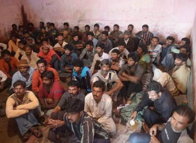 سرحدی حدود کی خلاف ورزی کر نے والے 30بھارتی ماہی گیر گرفتار