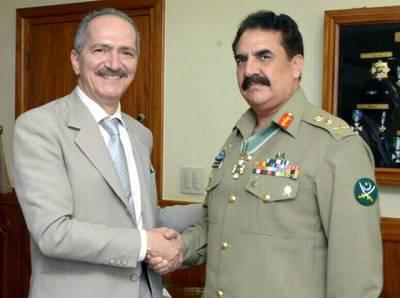آرمی چیف کی برازیل کے وزیر دفاع سے ملاقات، مختلف امور میں تعاون پر اتفاق
