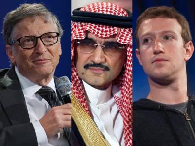 سعودی پرنس ولید بن طلال، بل گیٹس اور مارک زکربرگ اکٹھے ہوگئے، سب سے بڑے منصوبے کا اعلان کردیا