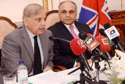 برطانیہ کو نواز حکومت پر مکمل اعتماد ہے ،ہماری پالیسیاں پاکستانیوں کے لئے باعث فخر ہوں گی :شہباز شریف