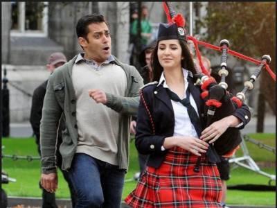 کترینہ کیف سلمان خان پر چلائیں تو دبنگ خان نے معذرت کر لی