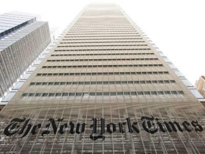 نیویارک ٹائمز کا ایک صدی بعد صفحہ اول پر اداریہ ، اسلحہ پر پابندی کا مطالبہ