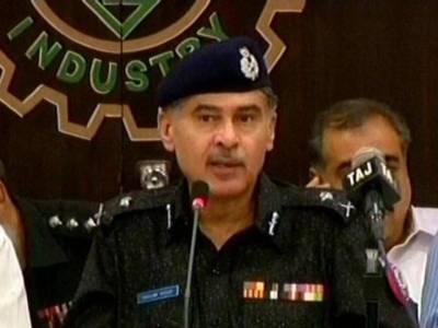 شہر قائد میں ملٹری پولیس اور رینجرز پر حملہ کرنے والے ملزمان گرفتار کر لئے: آئی جی سندھ