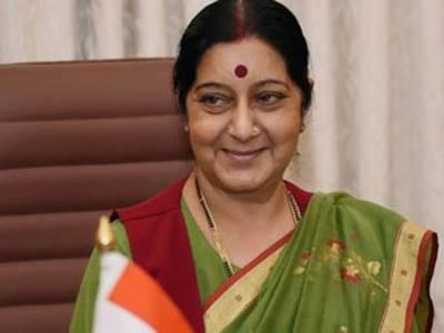 بھارتی وزیر خارجہ سشما سوراج پاکستان کا دو روزہ دورہ مکمل کرنے کے بعد نئی دہلی پہنچ گئیں