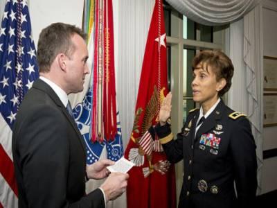 امریکی تاریخ میں پہلی بار خاتون جنرل کو ملٹری اکیڈمی کا سربراہ مقرر کردیا گیا