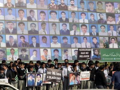 لاہور میں 65 مقامات پر آرمی پبلک اسکول کے شہدا کو خراج عقیدت پیش کرنے کے لئے سرکاری تقریبات کا انعقاد