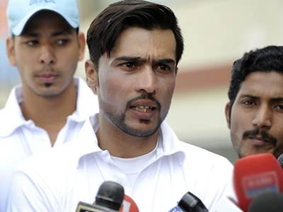 فاسٹ باؤلر محمد عامر نے تربیتی کیمپ چھوڑ نے کی پیشکش کر دی