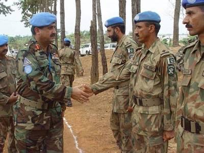 پاک فو ج کے 7212 جوان اقوام متحدہ کے امن مشنز میں مصروف ، مجموعی طورپر ڈیڑھ لاکھ سے زائد جوانوں نے خدمات سرانجام دیں:دستاویزات