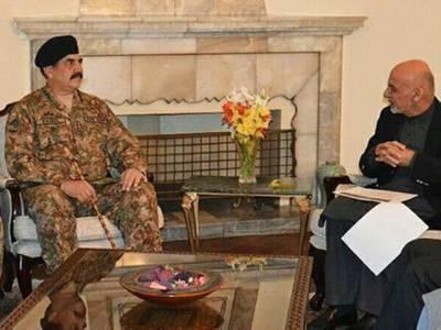آرمی چیف کا دورہ افغانستان،پاک افغان سرحد ایک دوسرے کے خلاف استعمال نہ کرنے پر اتفاق :آئی ایس پی آر