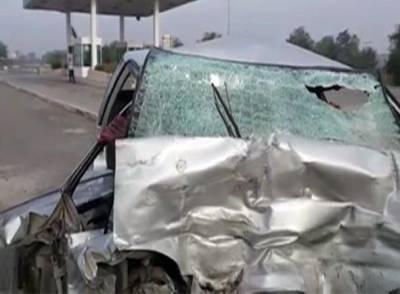حسن ابدال اور حید آباد میں ٹریفک حادثے ،دو افراد جا ں بحق ،آٹھ زخمی