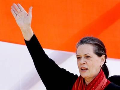 بھارتیہ جنتا پارٹی سیاسی طاقت حاصل کرنے کے لئے ملک میں فرقہ واریت اور مذہبی امتیاز کو فروغ دے رہی ہے :سونیا گاندھی