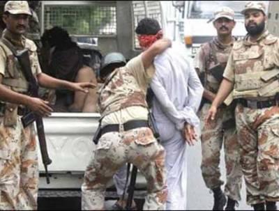 شہر قائد میں رینجرز کی کارروائی ،دو دہشت گرد گرفتار ،اسلحہ برآمد