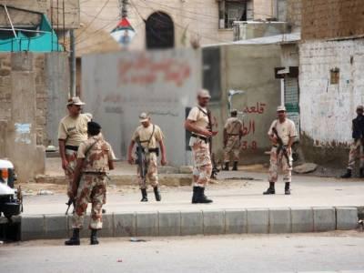 رینجرز کی اورنگی ٹاﺅن میں کارروائی، کالعدم تنظیم کے 3 دہشت گرد گرفتار
