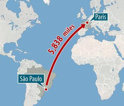 جہاز سے لٹک کر انسان کا 6 ہزار میل کا سفر ،نتیجہ کیا نکلا؟یقین کرنا مشکل