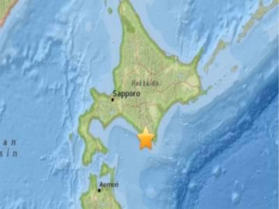 جاپان کے شمالی جزیروں 6.7 شدت کے زلزلے کے شدید جھٹکے، سونامی وارننگ جاری کرکے واپس لے لی گئی