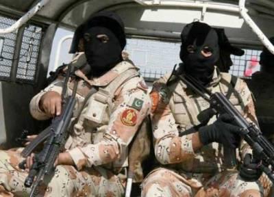 کراچی میں رینجرز کی کارروائی ،کالعدم تنظیم کے 5کارندے گرفتار
