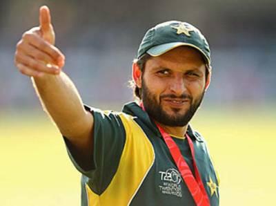 جیت ٹیم کی محنت کا نتیجہ، حفیظ نے بیٹنگ، محمد عامر اور عمر گل نے اچھی باﺅلنگ کی: شاہد آفریدی