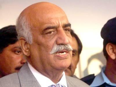 اقتصادی راہداری منصوبے کی بنیاد آصف علی زرداری نے رکھی :خورشید شاہ