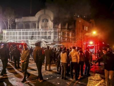سعودی عرب کے شہر الجبیل میں دھماکہ، ہر طرف دھواں ہی دھواں