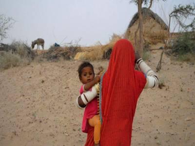 تھرپارکر میں غذائیت کی کمی کے باعث بچوں کی موت کا سلسلہ نہ تھم سکا