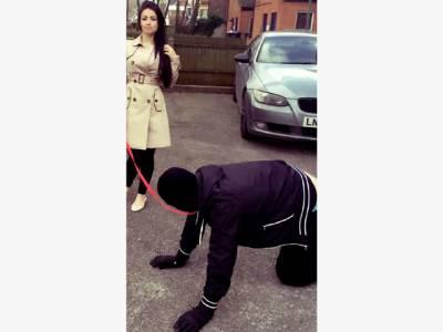 آدمی کے گلے میں کتے کا پٹہ ڈال کر سڑک پر پھرانے والی ویڈیو کی اصل کہانی سامنے آگئی، حقیقت اتنی شرمناک کہ یقین کرنا مشکل