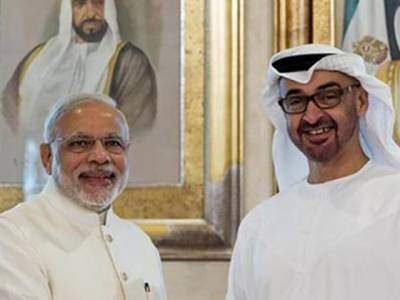 متحدہ عرب امارات اور بھارت کے درمیان دفاع سمیت کئی معاہدوں کا امکان