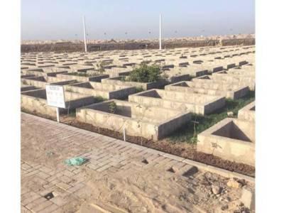 کراچی میں مرنیوالوں پاکستانیوں کو ٹیکنالوجی سے لیس جدید قبرستانوں میں دفنانے کا فیصلہ
