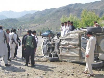 مہمند ایجنسی: تحصیلدار کی گاڑی پر بم حملہ، اے این ایف کے 2اہلکار شہید، تحصیلدار زخمی