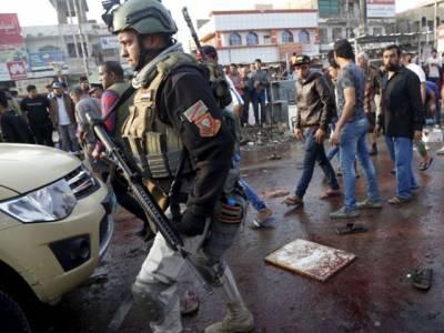 عراق میں فوجی ہیڈ کواٹر پر خود کش حملہ، بریگیڈئر جنرل اور لیفٹیننٹ کرنل سمیت 9 فوجی اہلکار ہلاک