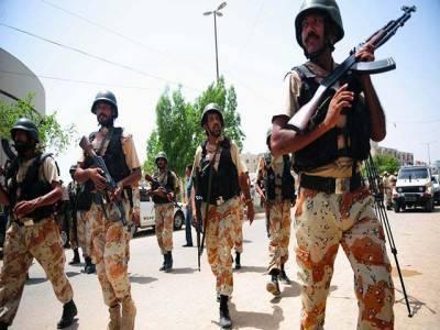 پولیس اور حکومت سندھ ٹارگٹڈ آپریشن میں رکاوٹ ہیں: رینجرز رپورٹ