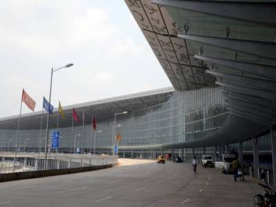 کولکتہ ایئرپورٹ کو بم سے اڑانے کی دھمکی: سیکیورٹی الرٹ