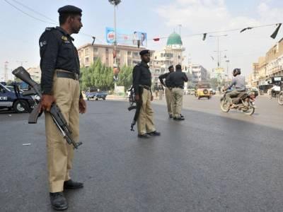 کراچی پولیس کی مختلف علاقوں میں کارروائیاں، 11 ملزمان گرفتار